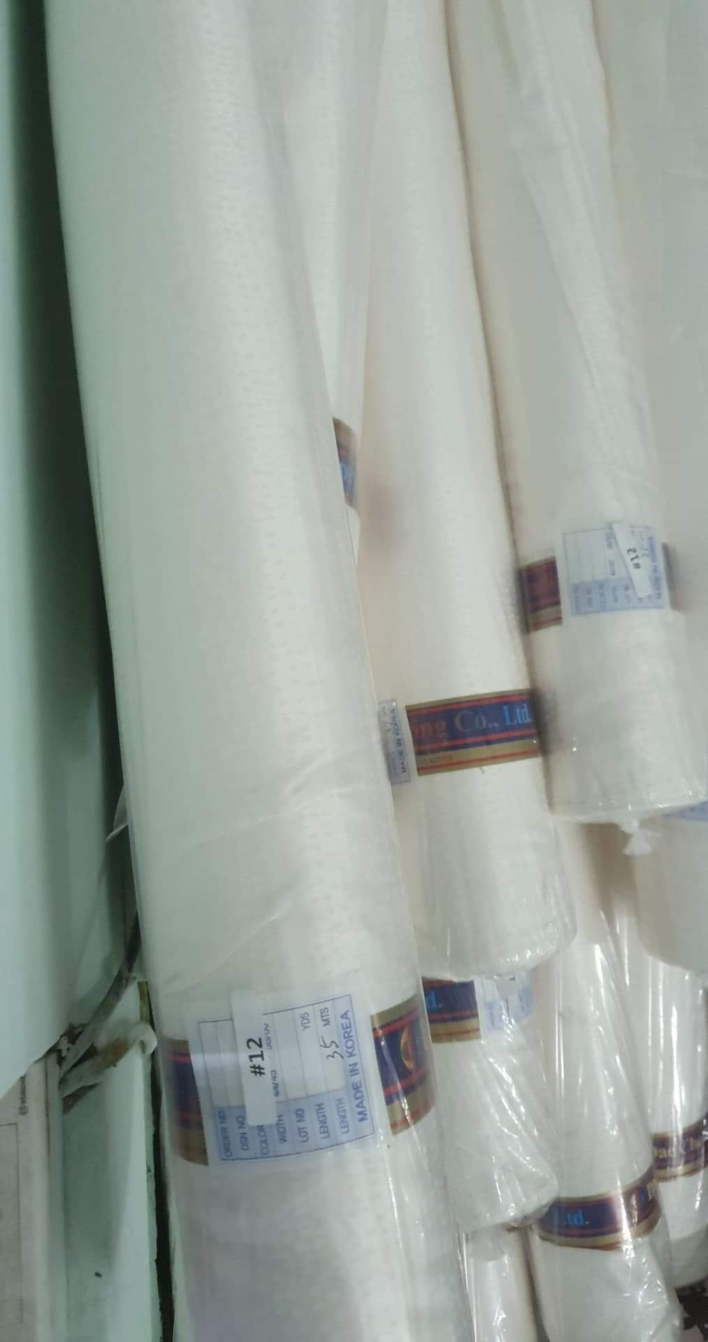 Vải satin lụa made in Korea